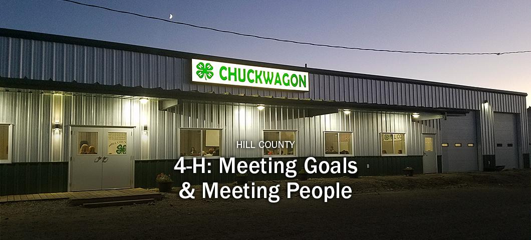 Hill County 4-H - Meeting People and Goals